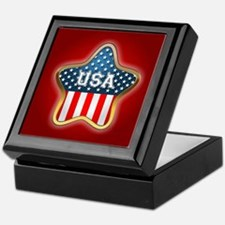American Star Keepsake Box