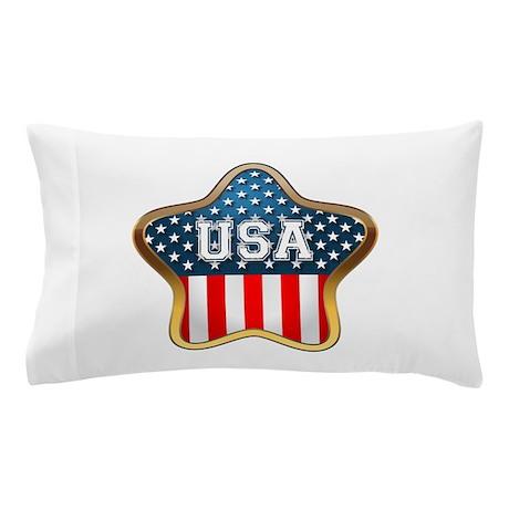 American Star Pillow Case