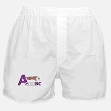 Red Merle AgileBC Logo Boxer Shorts