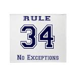 Rule 34 Collegiate Shirt - No exceptions Stadium