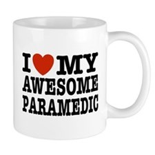 I Love My Awesome Paramedic Mug