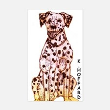 Dalmation Rectangle Decal