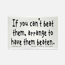 Beat Them... Rectangle Magnet (10 pack)