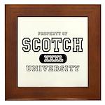 Scotch University Framed Tile