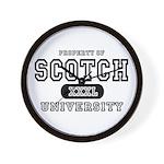 Scotch University Wall Clock