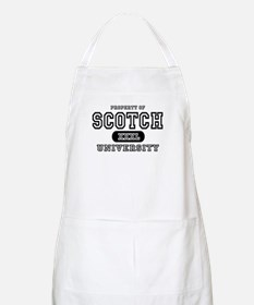 Scotch University BBQ Apron