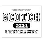 Scotch University Small Poster