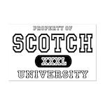 Scotch University Mini Poster Print