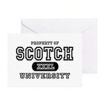 Scotch University Greeting Cards (Pk of 10)