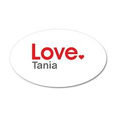 Love Tania Wall Decal