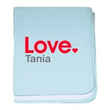 Love Tania baby blanket