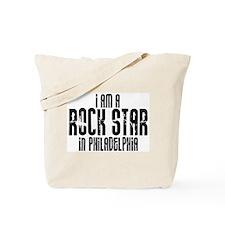 Rock Star In Philadelphia Tote Bag