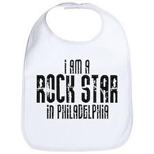 Rock Star In Philadelphia Bib