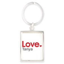 Love Tanya Portrait Keychain