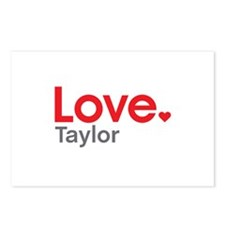 Love Taylor Postcards (Package of 8)