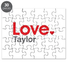 Love Taylor Puzzle