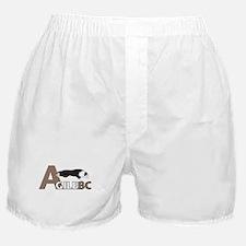 Black Tri AgileBC Logo Boxer Shorts