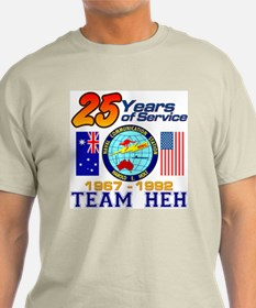 Team HEH Design 2 Ash Grey T-Shirt