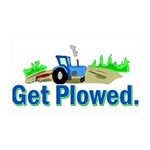 Get Plowed. 35x21 Wall Decal