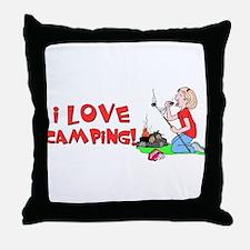 ilove.png Throw Pillow