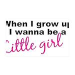 littlegirl.png 35x21 Wall Decal