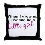 littlegirl.png Throw Pillow