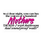 100mothers.png 35x21 Wall Decal