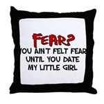 fear.png Throw Pillow