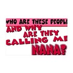 callingnana.png 35x21 Wall Decal