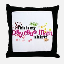 daycaremom.png Throw Pillow