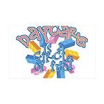 Daycare - Circle of fun! 35x21 Wall Decal