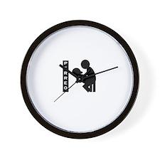 Unique Hop Wall Clock