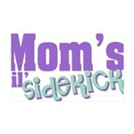 Mom's Lil' Sidekick 35x21 Wall Decal