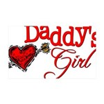 Daddy's Girl 35x21 Wall Decal