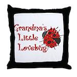 grandpalovebug.png Throw Pillow