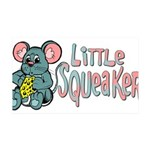 littlesqueaker.png 35x21 Wall Decal
