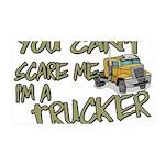 No Fear Trucker 35x21 Wall Decal