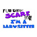 babysitter.png 35x21 Wall Decal