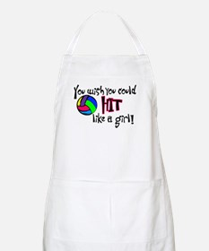 You Wish You Could Hit Like a Girl Apron