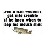 fishtrouble.png 35x21 Wall Decal