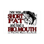 SHORT FAT3.png 35x21 Wall Decal
