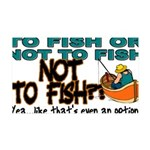 NOTTOFISH.png 35x21 Wall Decal