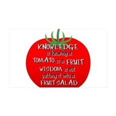 Tomato Smarts Wall Decal
