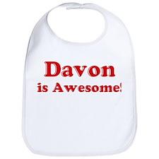 Davon is Awesome Bib