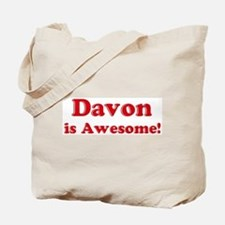 Davon is Awesome Tote Bag