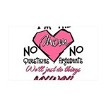 I'm The Mom! 35x21 Wall Decal