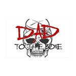 Dad to the Bone 35x21 Wall Decal