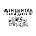 Scariest Place on Earth - Fatherhood 35x21 Wall De