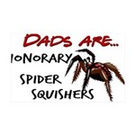 Spider Squishers 35x21 Wall Decal
