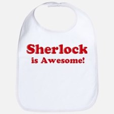 Sherlock is Awesome Bib